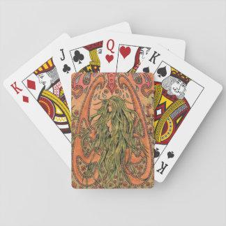 Rose Garden, Playing cards