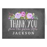 Rose Garden   Purple   Thank You Card