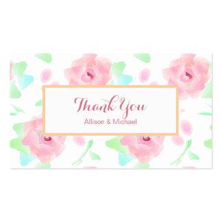 Rose Garden Retro Floral Pack Of Standard Business Cards