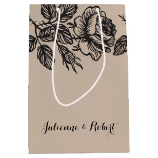 Rose Garden | Rustic Wedding Gift Bag