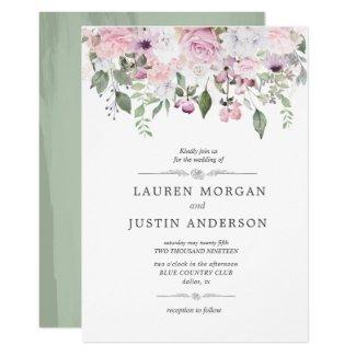 Rose Garden |  Wedding Invitation