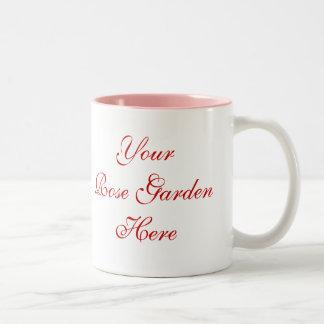 Rose Gardener Saying with Roses Coffee Mugs