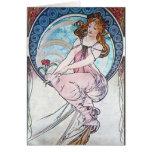 Rose Goddess Greeting Card
