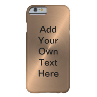 Rose Gold Barely There iPhone 6 Case