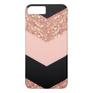 Rose Gold & Black iPhone 8 Plus/7 Plus Case