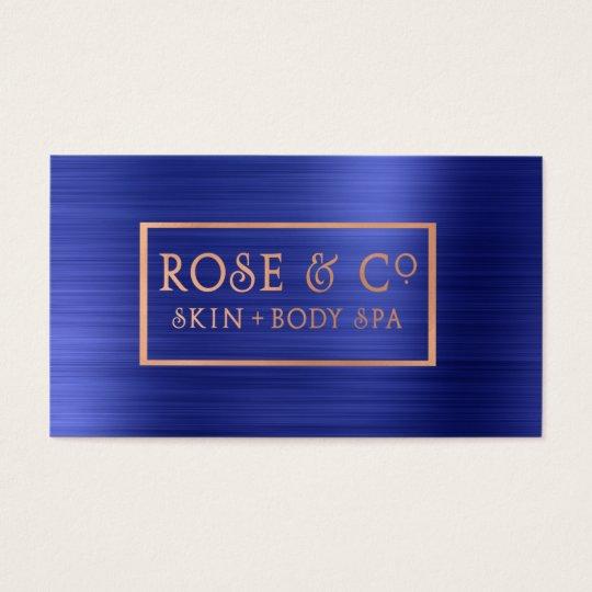 Rose Gold Blush Emerald Cobalt Blue Frame 22