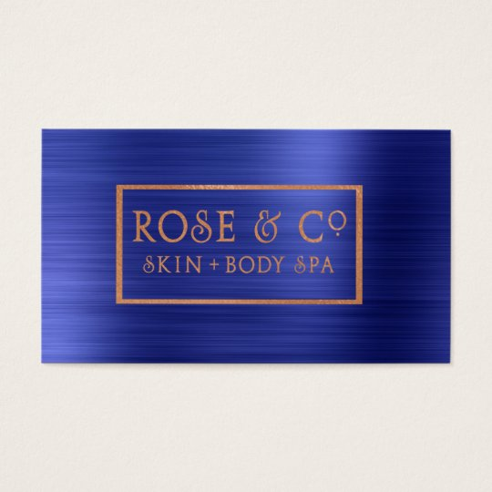 Rose Gold Blush Emerald Cobalt Blue Frame 4