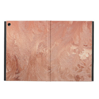 Rose Gold Copper Texture Metallic iPad Air Cover