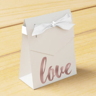 Rose gold favor boxes party favour boxes