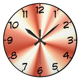 Fancy Wall Clocks Zazzle Co Uk