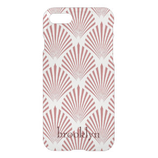 Rose Gold Geometric Seashell Shapes iPhone 8/7 Case