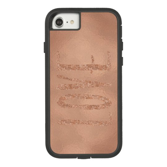 Rose Gold Glam Love Case-Mate Tough Extreme iPhone