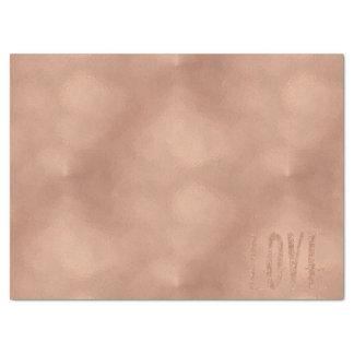 Rose Gold Glam Love Tissue Paper