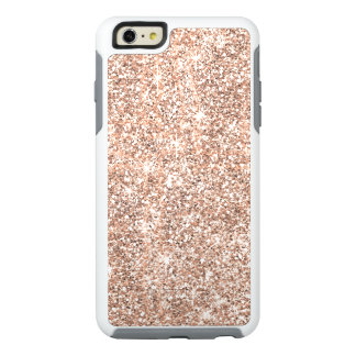 Rose Gold Glitter Pastel Otterbox iPhone 6 Case
