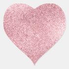 Rose Gold Heart Sticker