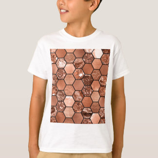 Rose gold hexaglam T-Shirt