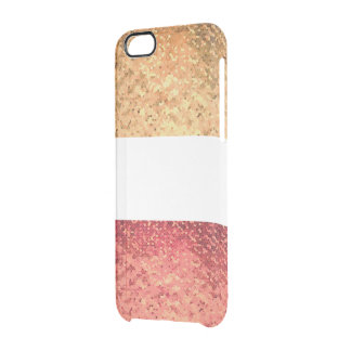 Rosé Gold Iphone marries Clear iPhone 6/6S Case