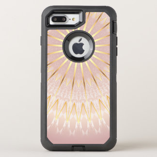 Rose Gold Mandala OtterBox Defender iPhone 8 Plus/7 Plus Case
