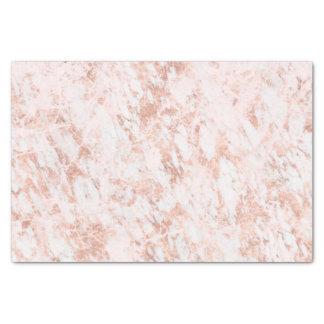 Rose Gold Marbled Elegant Modern Wedding Tissue Paper