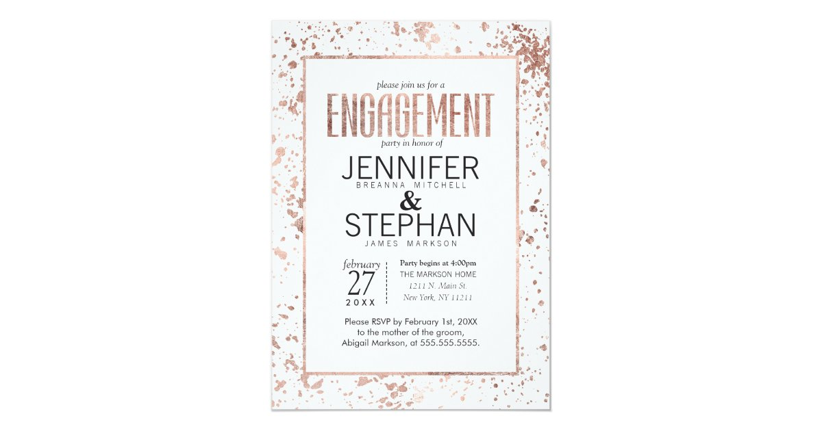 Luxury Engagement Party Invitations Uk Pictures - Invitation Card ...