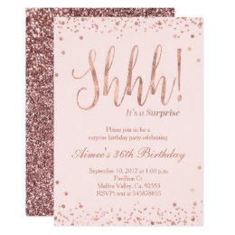 16th birthday invitations announcements zazzle rose gold party invitation filmwisefo Image collections