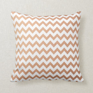 Rose Gold Pattern Modern Chevron Pattern Cushion