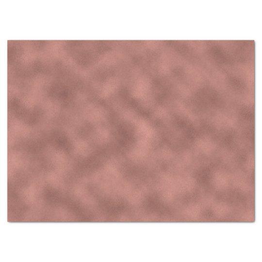 Rose Gold Pink Blush Glam Metallic Glass Tissue