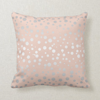 Rose Gold Polka Dots ID128 Cushion