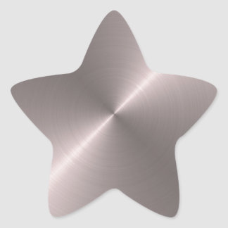 Rose Gold Star Sticker
