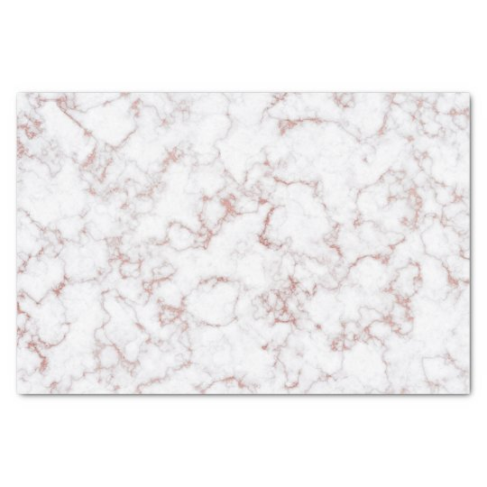 Rose Gold Stone White Gray Stone Marble Tissue