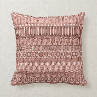 Rose Gold Tribal ID126 Cushion