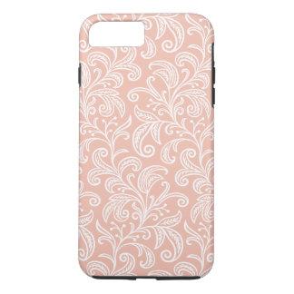 Rose Gold Vine Pattern   iPhone 8 Plus/7 Plus Case
