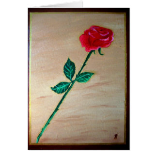 Rose - GreetingCard Greeting Card