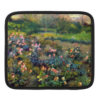 Rose grove by Pierre Renoir iPad Sleeve