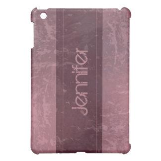 Rose Grunge Marble Distressed  iPad Mini Case
