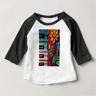 Rose Guitar & Keys Baby T-Shirt