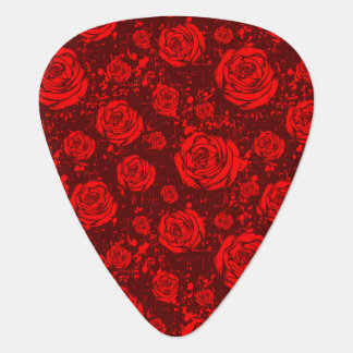 rose guitar pick