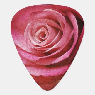 Rose guitar picks