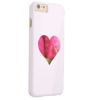 Rose Heart Barely There iPhone 6 Plus Case