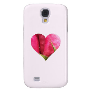 Rose Heart Galaxy S4 Case
