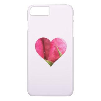 Rose Heart iPhone 8 Plus/7 Plus Case