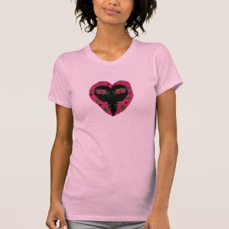 rose heart shirt