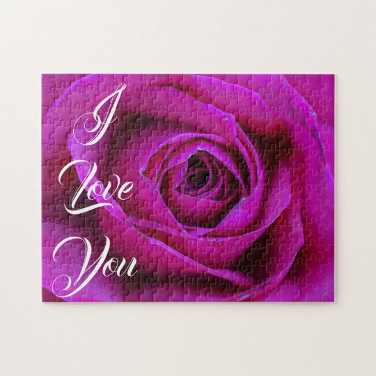 Rose I Love You Puzzle