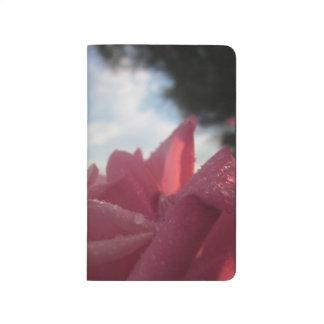 Rose in a Rainstorm Notebook