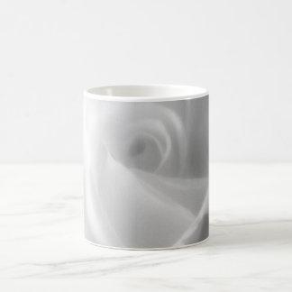 Rose in Black and White Mug