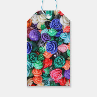 rose in the garden gift tags