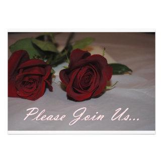 Rose Invitation Card