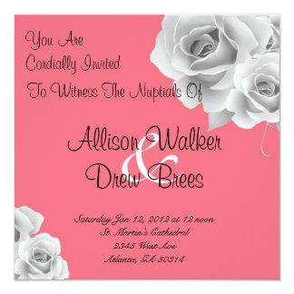 Rose Invitation (Pink)