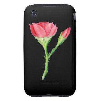 Rose iPhone 3 Tough Cover