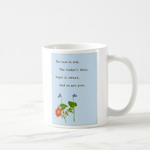 Rose is Red Coffee Mug